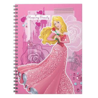 Aurora - Sleeping Beauty Spiral Note Books