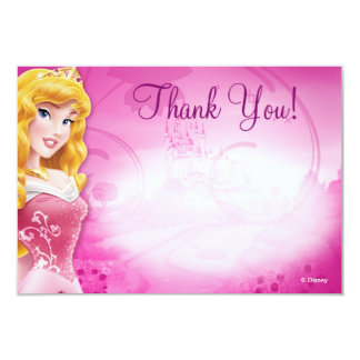 "Aurora Thank You Cards 3.5"" X 5"" Invitation Card"