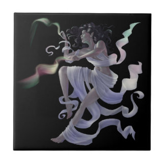 Aurora Weaver Fairy Magical Small Tile Coaster