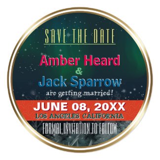 Aurora | Wedding Save the Date Invitation Cards