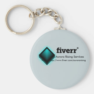 AuroraRising Services Fiverr keychain