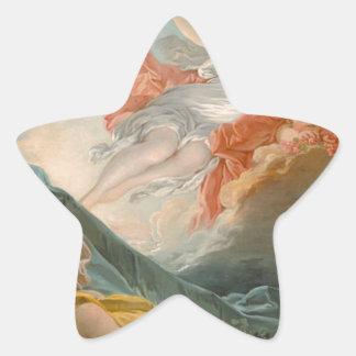Aurore by Jean-Honore Fragonard Star Sticker