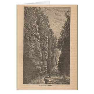 Ausable Chasm Card