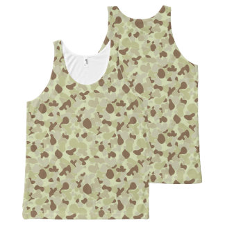 Auscam desert camouflage All-Over-Print tank top