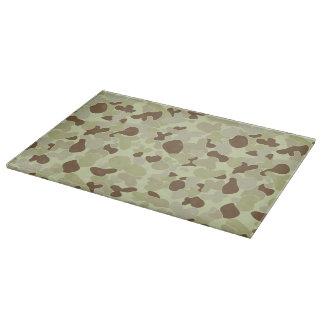 Auscam desert camouflage cutting board