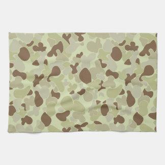 Auscam desert camouflage kitchen towel