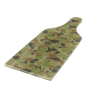Auscam green camouflage boards