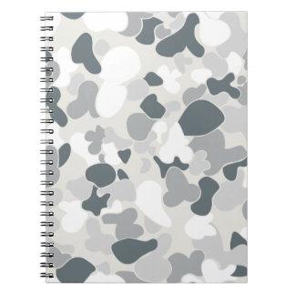Auscam snow spiral notebook