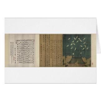 Auspicious Cranes by Emperor Huizong Card