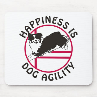 Aussie Agility Happiness Mousepad