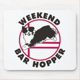 Aussie Agility Weekend Bar Hopper Mouse Pad