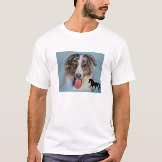 Aussie and Tennessee Walking Horse T-Shirt