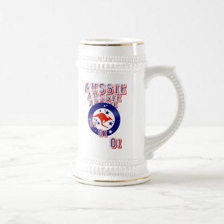 Aussie Aussie Aussie Oi Oi Oi Beer Stein