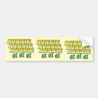 Aussie Aussie Aussie oi oi oi Bumper Sticker