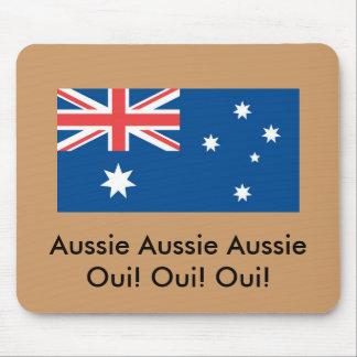 Aussie Aussie Aussie Oui! ... Mouse Pads