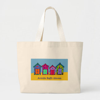 Aussie Bath House Large Tote Bag