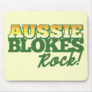 Aussie Blokes Rock Mousepads
