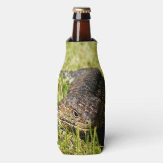Aussie_Blue_Tongue_Stumpy_Lizard_Stubby_Holder Bottle Cooler