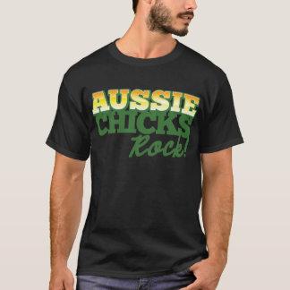 Aussie Chicks ROCK! T-Shirt