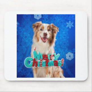 Aussie Christmas Mouse Pad