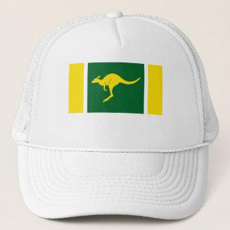 Aussie Colors Kangaroo Trucker Hat