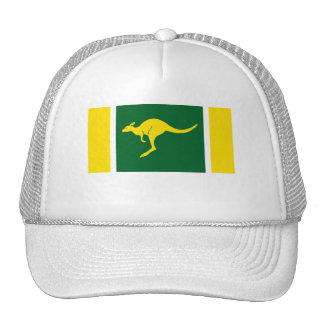 Aussie Colors Kangaroo Trucker Hat