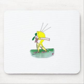 aussie cricketer out for nought, tony fernandes mouse pad