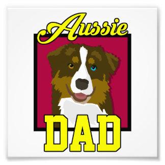 Aussie Dad Photographic Print