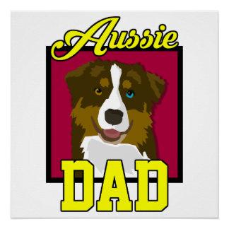 Aussie Dad Poster