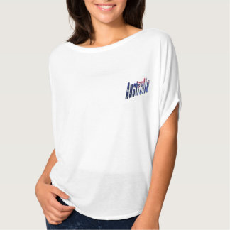 Aussie Dimensional Logo, Ladies Flowy Bella Top