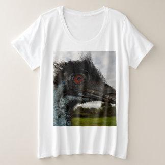 Aussie Emu Attraction, Plus Size T-Shirt