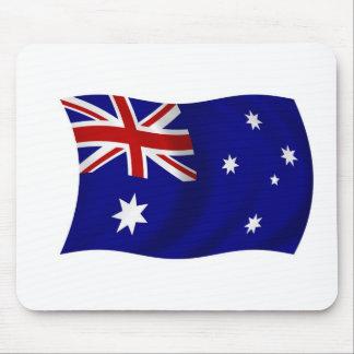 Aussie flag mouse pads
