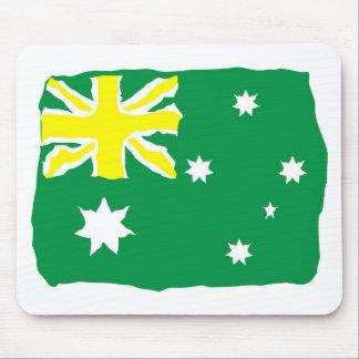 Aussie Flag Mouse Pad