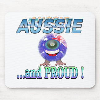 Aussie Furky Furry Mouse Pad