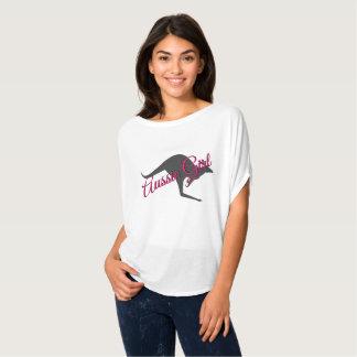 Aussie Girl Kangaroo Australia Shirt