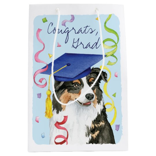 Aussie Graduate Medium Gift Bag