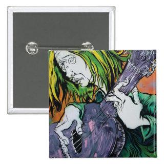Aussie Hippie 2 Inch Square Button