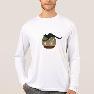 Aussie Kangaroo Long Sleeve T-Shirt