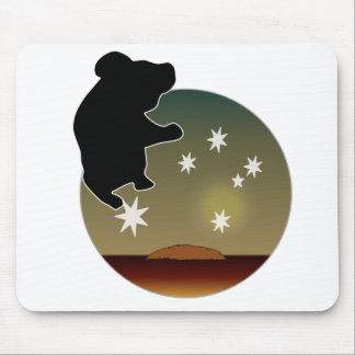Aussie Koala Icon Mouse Pad