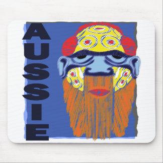 AUSSIE MASK MOUSE MAT