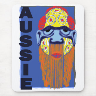 AUSSIE MASK MOUSE PAD