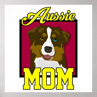 Aussie Mom Poster