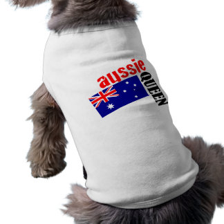 Aussie Queen & Flag Shirt