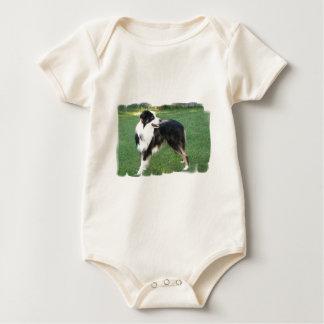 Aussie Shepherd Infant Baby Bodysuit