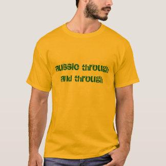 aussie through and through Australian green & gold T-Shirt