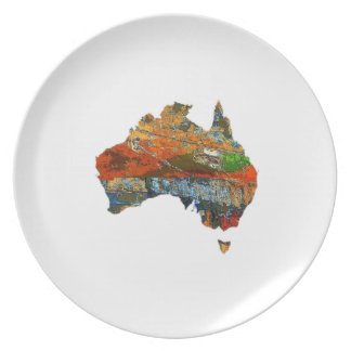 Aussie Time Party Plate