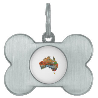 Aussie Time Pet Name Tag