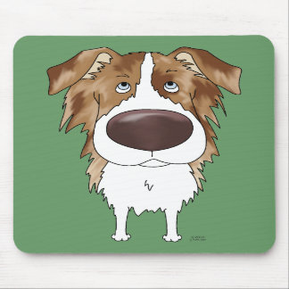 Aussies - Big Nose and Butt Mousepads