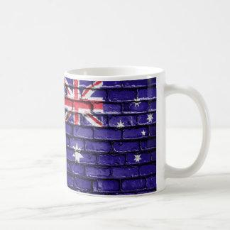 Aust Flag Bricks Coffee Mug