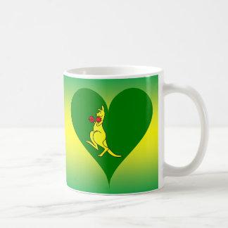 Aust Kangaroo Flag Coffee Mug